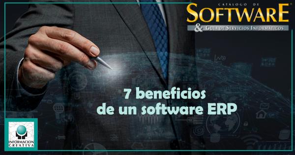 7 beneficios de un software ERP