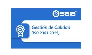 SAIA®  - Software Gestión de Calidad - ISO 9001:2015
