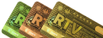 HOLOGRAMAS DE SEGURIDAD - Stickers de seguridad para protección de marca, y marcación de activos fijos
