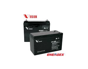 ENERGEX S.A. - Baterías Selladas Libres de Mantenimiento
