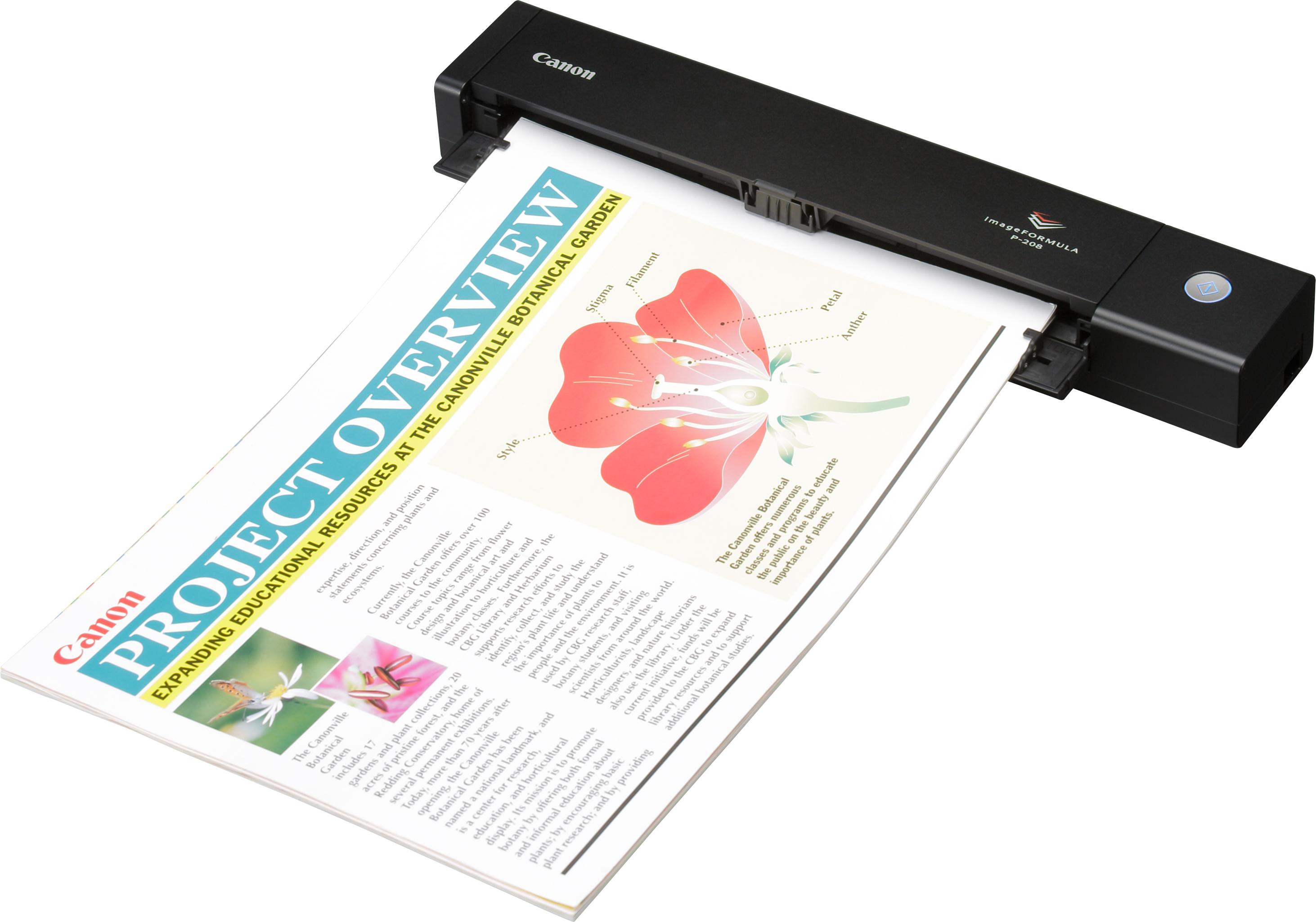 CANON - ImageFORMULA P201 / P208 / P2015 -Escáneres Personales Portátiles