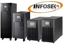 INFOSEC - UPS E4 LCD TX & E4 LCD X de 5 a 10 kVA