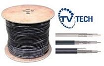 TvTech - Cable Coaxial RG-6 AL 90%