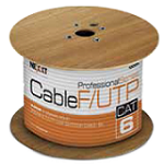 NEXXT SOLUTIONS - Cable F/UTP cat. 6, 23 AWG, tipo CMX. MPN: PCGUCC6FTBK