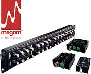 MAGOM - Protecciones contra Sobretensiones en Redes Telefónicas y CCTV