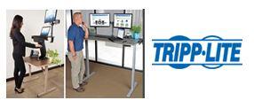 TRIPP LITE - Soluciones de Escritorios y Mesas de Trabajo para Trabajar de Pie