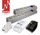 MAGOM - Protectores de Voltaje y Multitomas